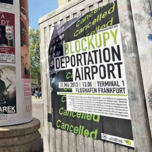 Blockupy Deportation Airport