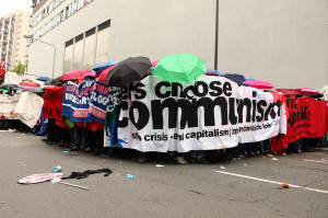 We choose communism im Kessel