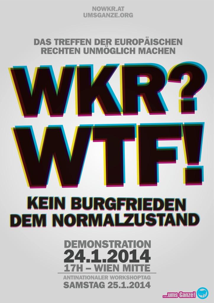 umsGanze! WKR Plakat 2014