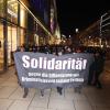 Foto einer Demonstration gegen Repression im Jahr 2013 in Frankfurt (Symbolbild)